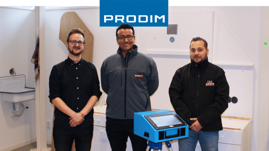 Prodim Proliner пользователь C&A Stone installers