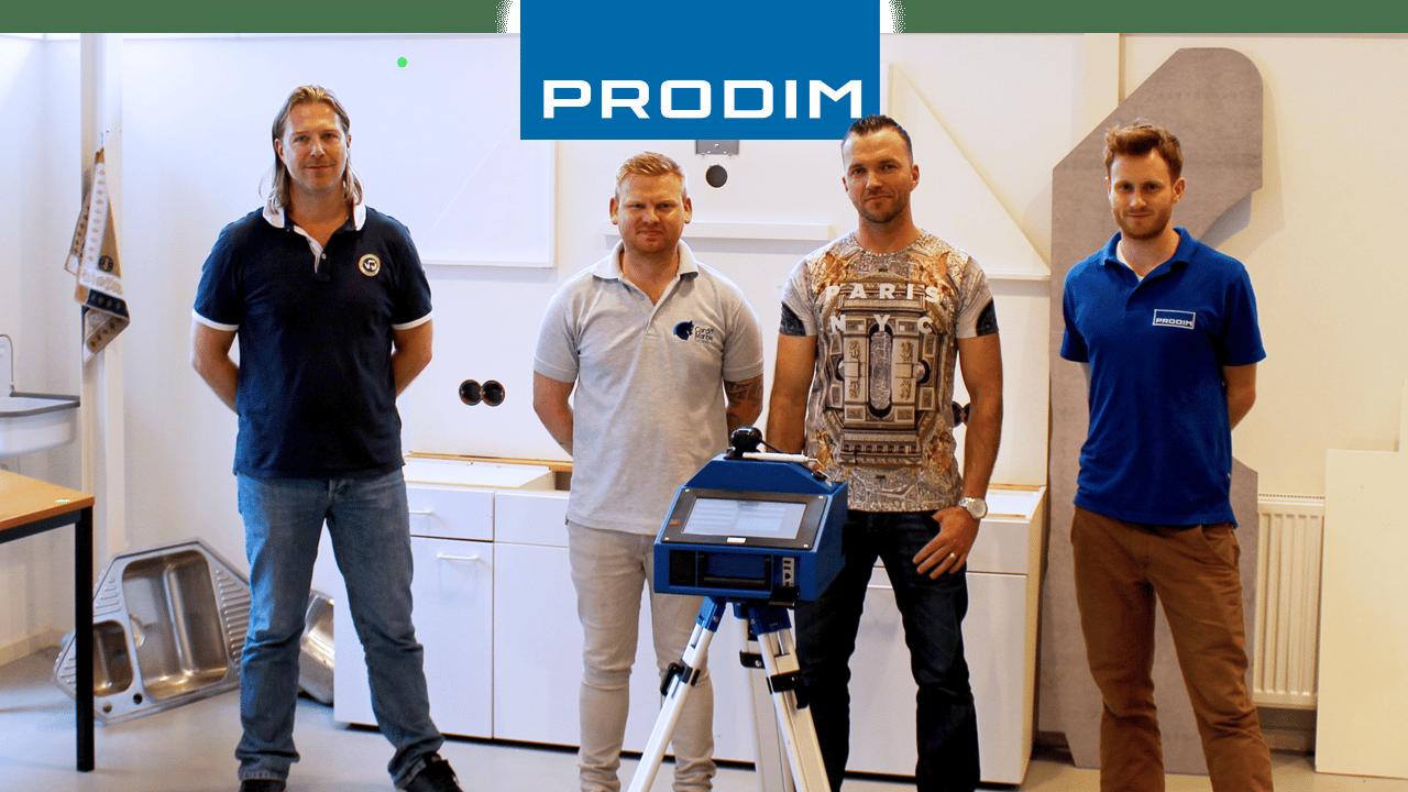 Prodim Proliner пользователь Cardiff Marble
