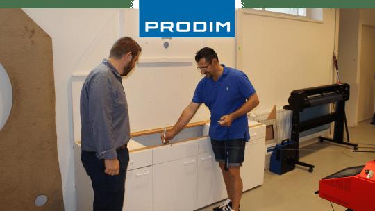 Prodim Proliner пользователь MF Italian Marble Installations & Design