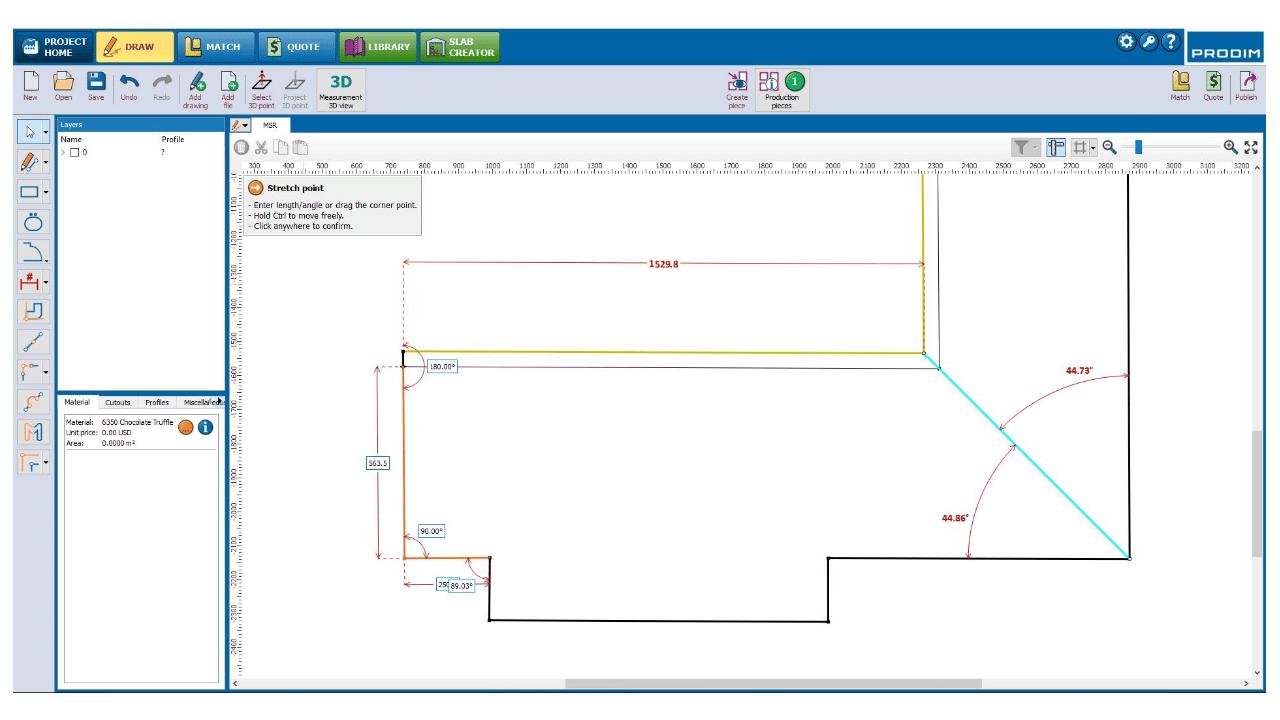 Скриншот - Prodim программное обеспечение Factory - Чертить