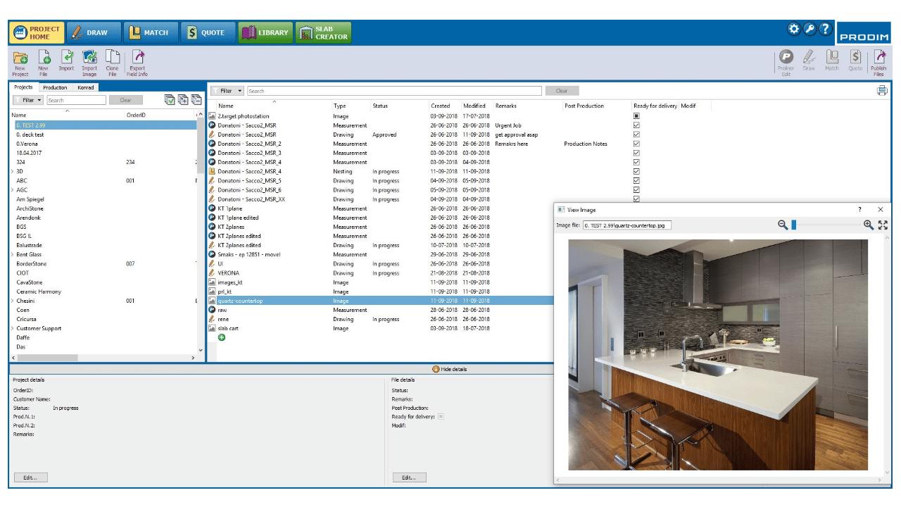 Скриншот - Prodim Factory программное обеспечение – Project Home