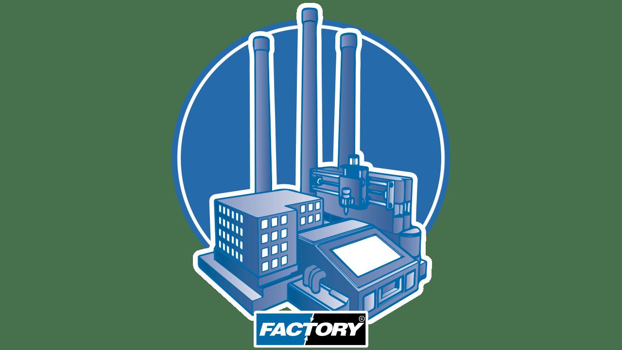 Логотип - Prodim программное обеспечение Factory