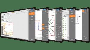 Скриншоты - Prodim Proliner программное обеспечение Лестница