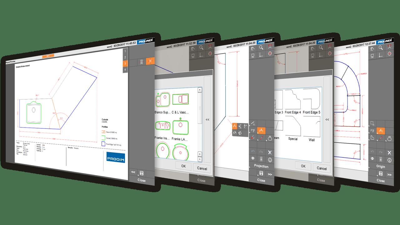 Скриншоты - Prodim Proliner CT программное обеспечение Камень