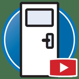 Кнопка для просмотра Proliner видео оцифровка шаблонов дверей