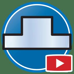 Кнопка для просмотра Proliner видео оцифровка фартука из стекла