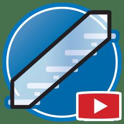 Кнопка для просмотра Proliner видео оцифровки шаблонов стеклянных балюстрад