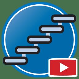 Кнопка для просмотра Proliner видео оцифровки шаблонов лестниц