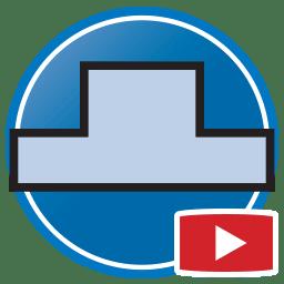 Кнопка для просмотра Proliner видео оцифровки шаблонов каменного фартука