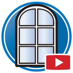 Кнопка для просмотра Proliner видео оцифровка шаблонов окон