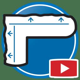 Кнопка для просмотра Proliner видео измерения физических шаблонов для изделия из камня