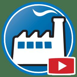 Кнопка для просмотра видео программное обеспечение управления бизнесом Prodim Factory