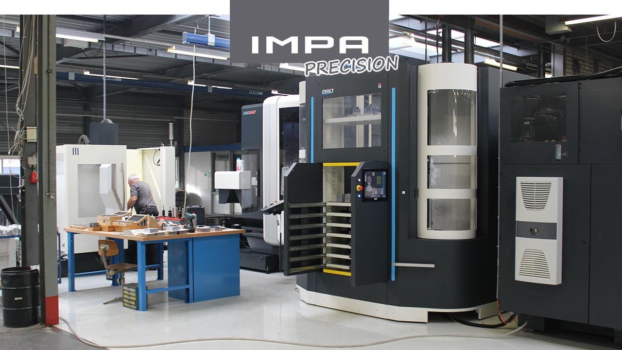 IMPA Precision - 3 и 5 - осевые фрезерные машины