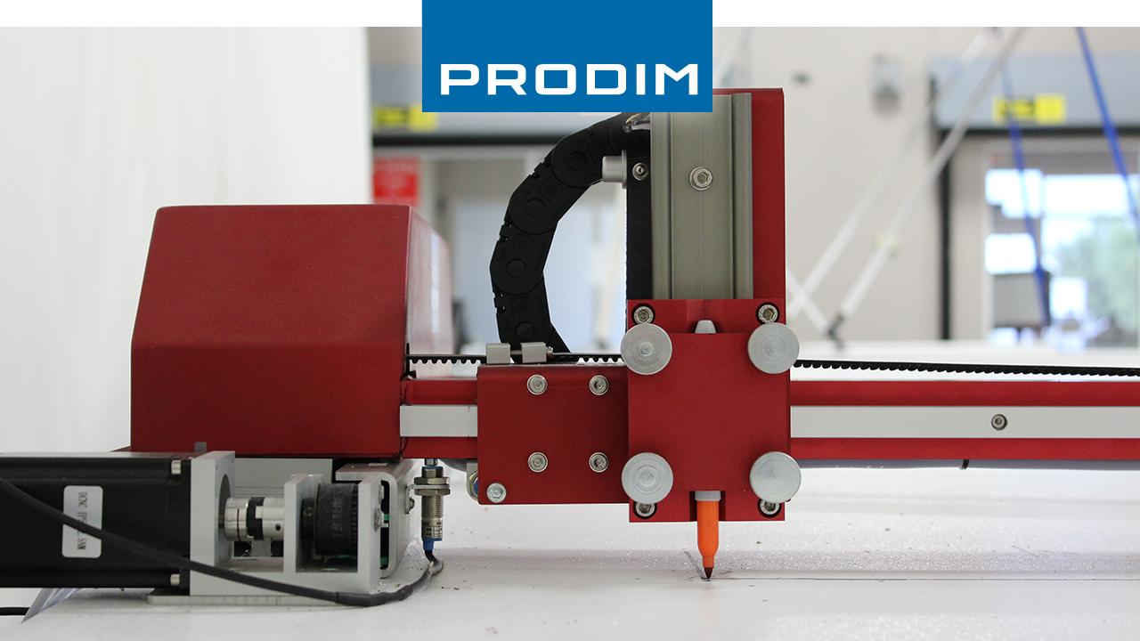 Prodim полные решение оцифровки шаблонов - на основе приложений индустрии - изображение Prodim Плоттера