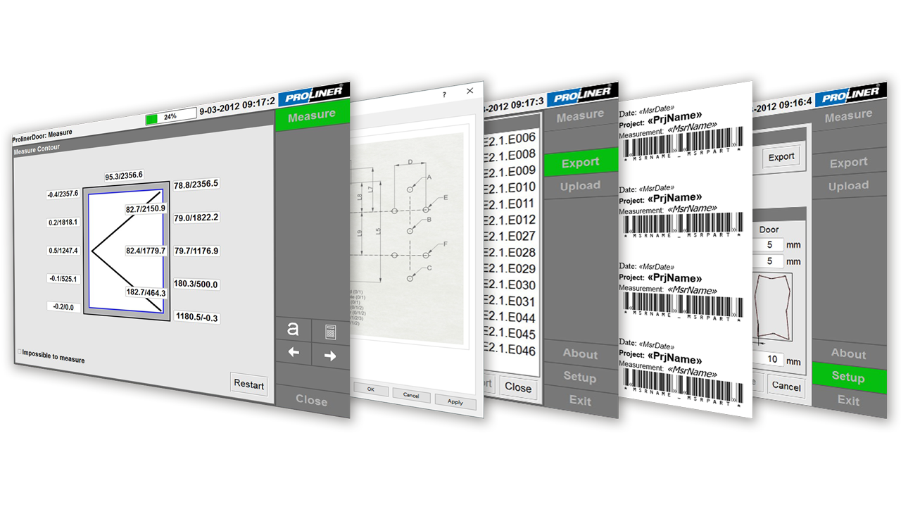 Скриншоты - Prodim Factory программное обеспечение Дверь
