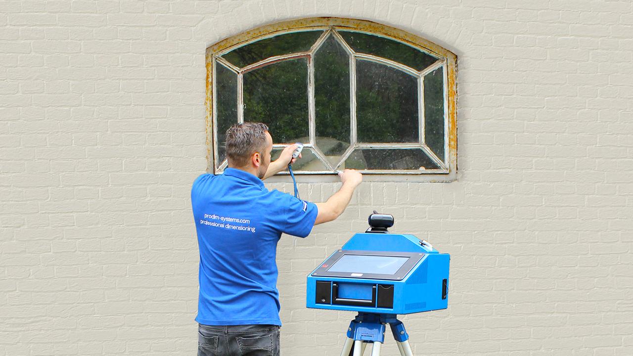 Prodim отраслевые решения дверь и окно - измерение Окон