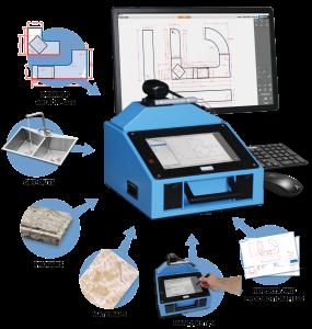 Proliner CT программное обеспечение: редактировать и завершить измерения на месте