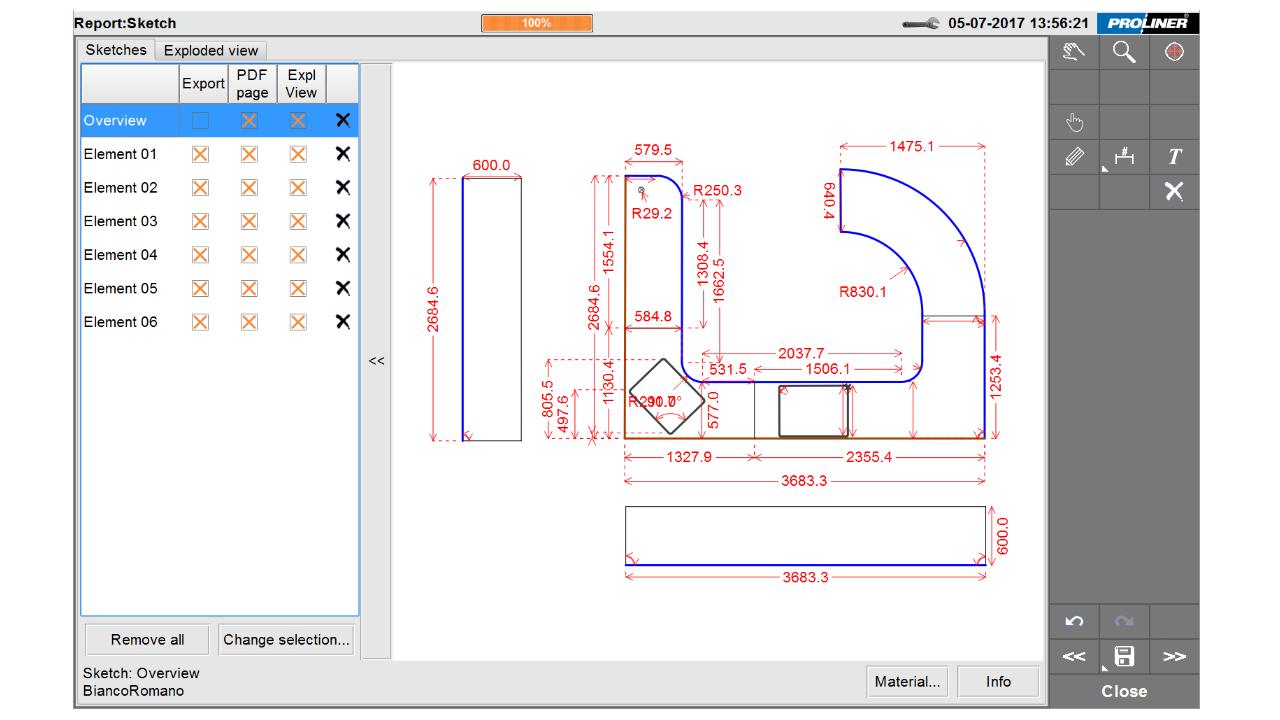 Скриншот - Prodim Factory программное обеспечение – Edit CT