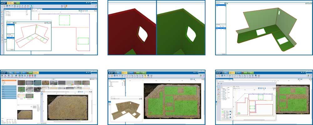 Screenshots - Программное обеспечение Prodim Factory - Камнеобрабатывающая