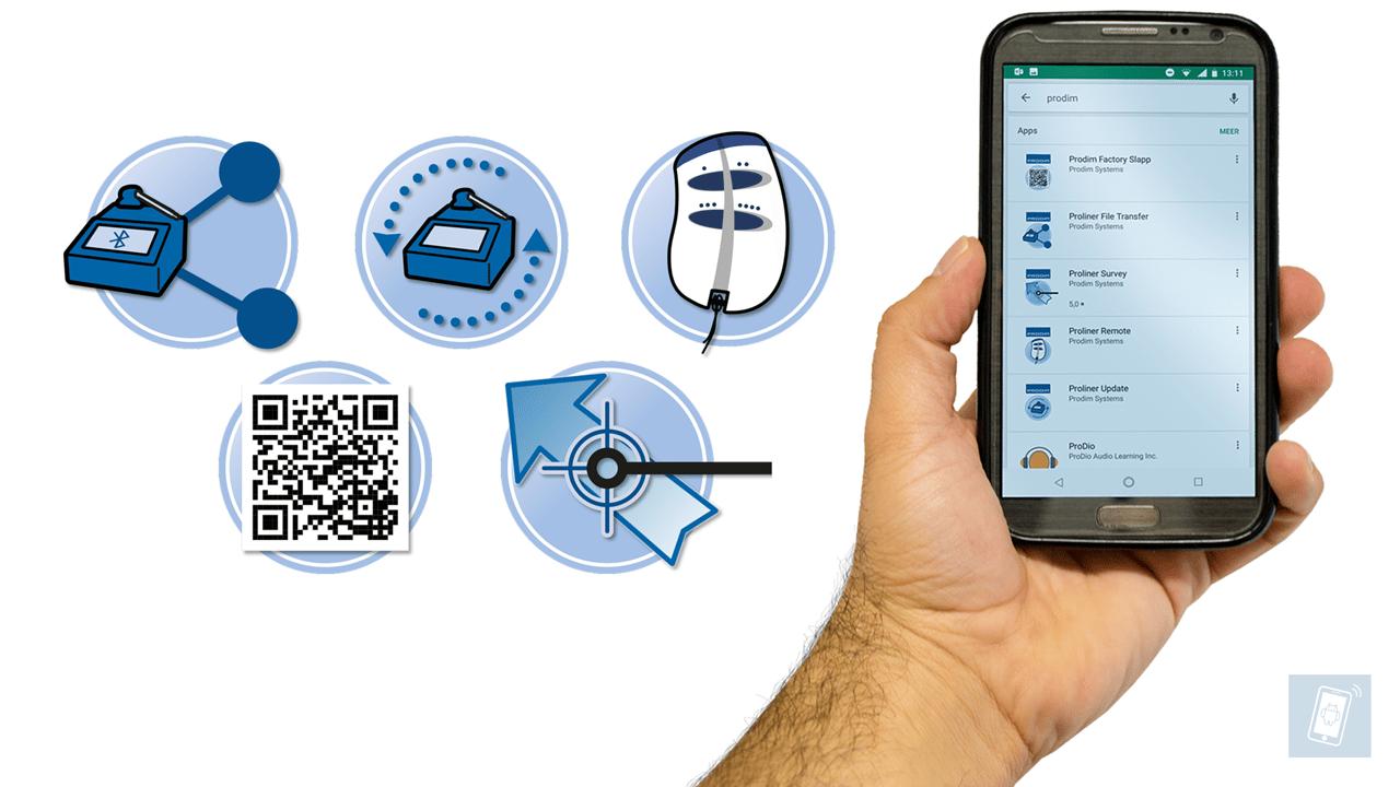 Приложения Prodim для смартфонов