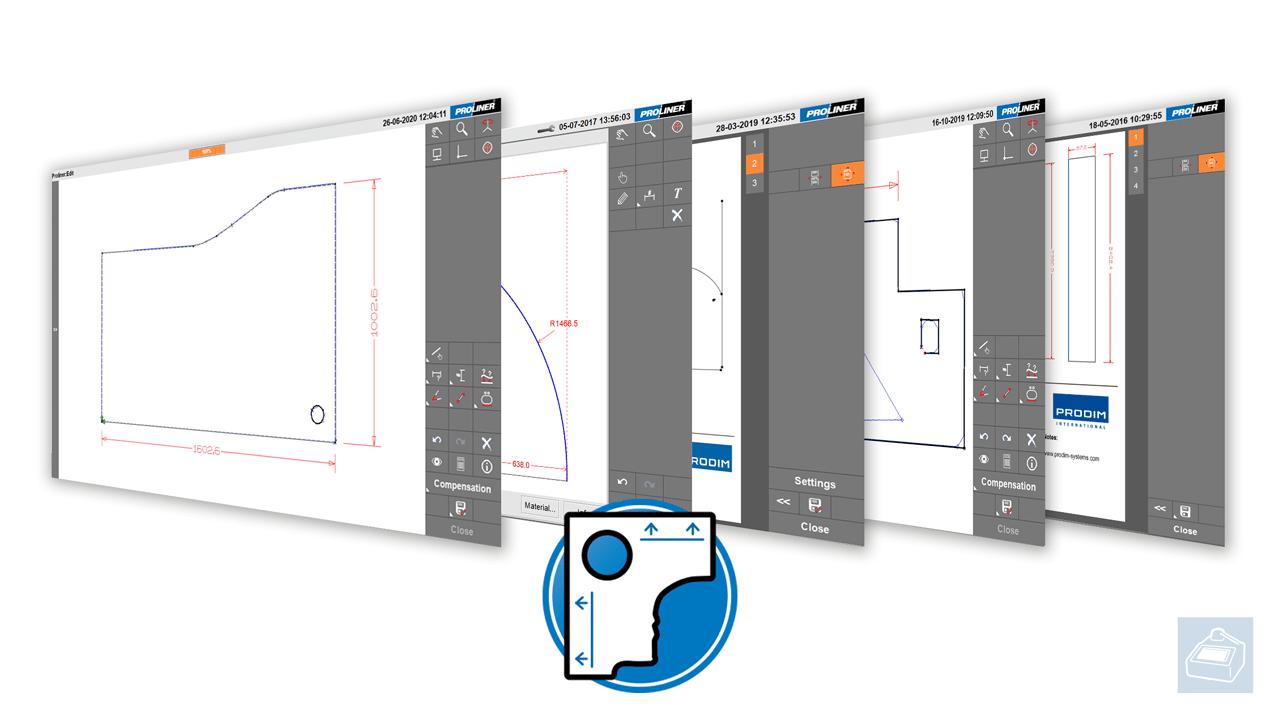 Prodim Proliner Template software app