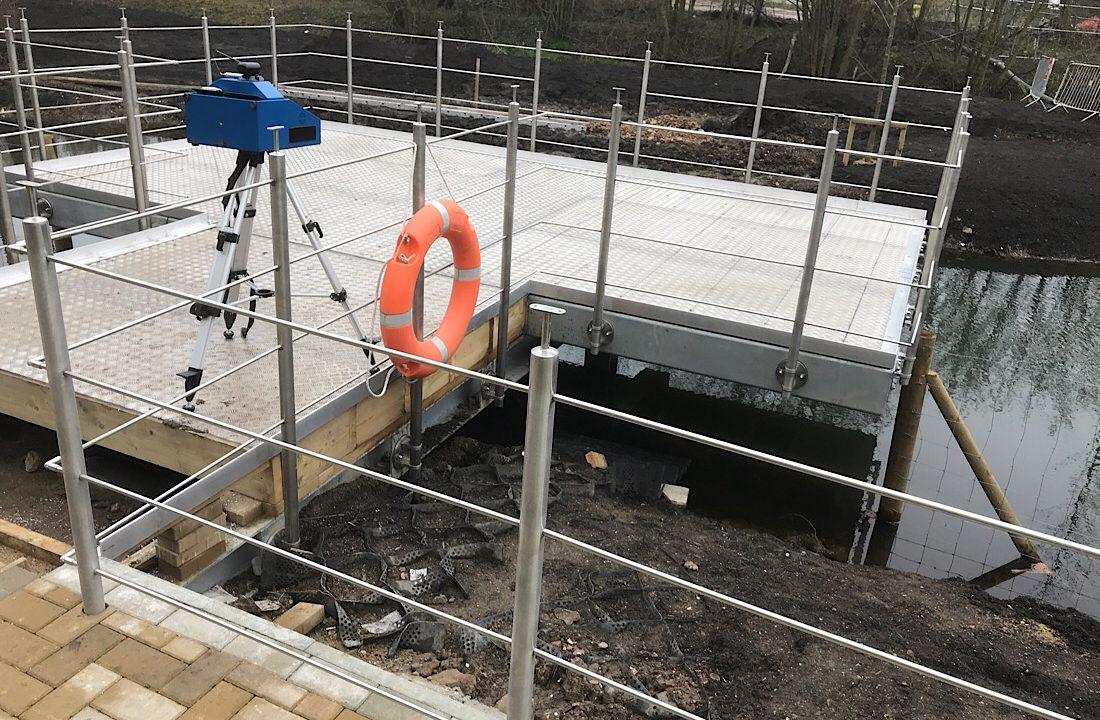 Prodim Proliner user - Seabrook Digital - Fence Project