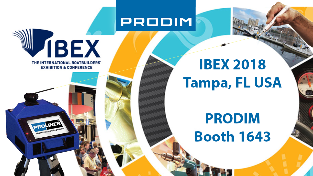 Посетите Prodim на IBEX 2018 in Tampa, FL USA - Booth 1643