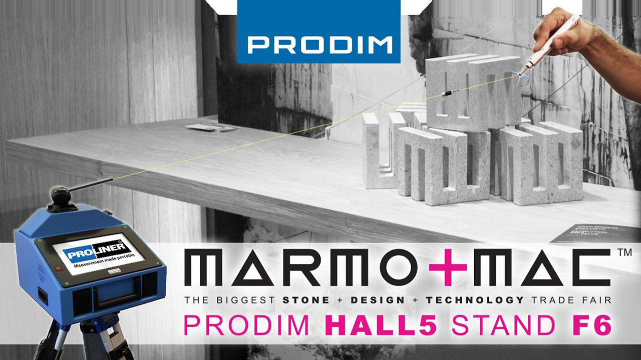 Посетите Prodim на Marmomac 2018 in Verona (IT) - Hall 5 - Stand F6